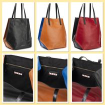 Marni Leather Toto Bag ツートンレザートートバック国内発送