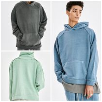 ATTENTIONROW(アテンションロー) パーカー・フーディ [ATTENTION ROW] CURVE TUNNEL PIGMENT OVER-FIT SET-UP HOODIE