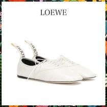 LOEWE☆ DERBY LEATHER SHOESソフト ダービー SOFT WHITE