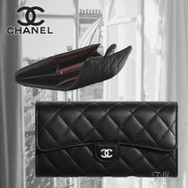 CHANEL▼【直営・正規店品】TIMELESS CLASSIC フラップ お財布