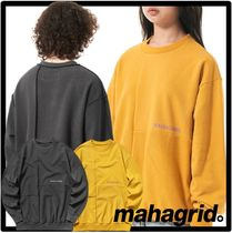 ☆送料・関税込☆mahagrid★BLOCK REVERSIBLE SWEATSHIRT★2色★