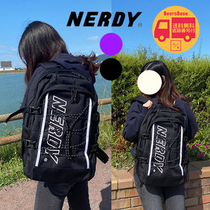 NERDY Belted String Backpack BBH384 追跡付
