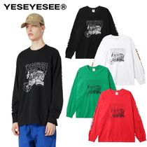 【YESEYESEE】20fw 新作 Y.E.S Racer Long Sleeve T-シャツ 4色