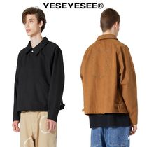 【YESEYESEE】20fw 新作 Y.E.S Suede Jacket Black/Brown