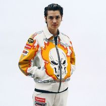 Supreme Vanson Leathers Ghost Rider Jacket シュプリーム 革