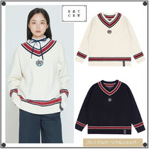 ROMANTIC CROWNのSUNDAY SYNDROME CLASSIC V NECK KNITWEAR