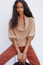 セール☆Anthropologie☆ Natalie Cowl-Neck Cashmere Sweater