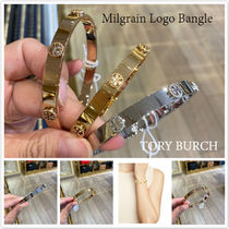 TORY BURCH★Milgrain Logo Bangle 上品なバングル