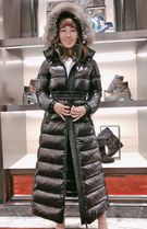 MONCLER★20/21AW最新作 ファー付ロングダウンHUDSON★関税込み