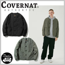COVERNAT THERMORE PADDING QUILTING JACKET YJ345 追跡付