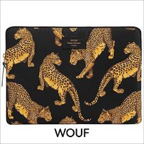 【WOUF】 WOUF BLACK LEOPARD MACBOOK PRO 13″ LAPTOP SLEEVE