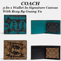 Coach(コーチ) 折りたたみ財布 【COACH】3-In-1 Wallet In Signature Canvas