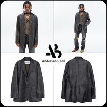 [ANDERSSON BELL] ★UNISEX NEW DADDY CLASSIC LEATHER JACKET