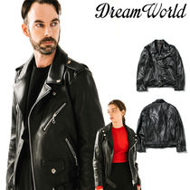 [Dream World] Lamskin Rider Jacket ライダー★テミン着用