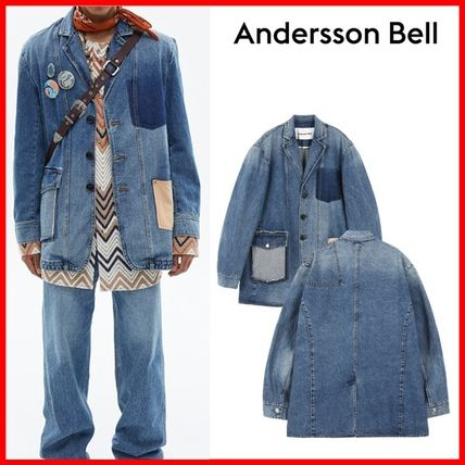 ANDERSSON BELL ジャケットその他 ★ANDERSSON BELL★DENIM PATCH RE-WORK JACKET★正規品★