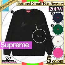 20FW /Supreme Textured Small Box Sweater スモール ボックス