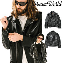 [Dream World] Cowhide Rider Jacket★モトサイクルライダー