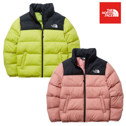 THE NORTH FACE(ザノースフェイス) キッズアウター ★THE NORTH FACE★大人気 K'S COLOR T-BALL NUPTSE EX JACKET