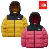 THE NORTH FACE(ザノースフェイス) キッズアウター ★THE NORTH FACE★日本未入荷 K'S COLOR T-BALL NUPTSE HOODIE