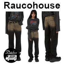 Raucohouse vintage to toned denim pants CA51 追跡付