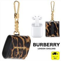 SALE!在庫限り☆[BURBERRY]レオパードプリントAirpodsケース
