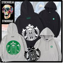 STOCKHOLM SYNDROME(ストックホルムシンドローム) パーカー・フーディ STOCKHOLM SYNDROME★SKULL BOUCLE HOODED SWEATSHIRTS フーディ