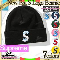 20FW/Supreme New Era S Logo Beanie ニューエラ Sロゴ ビーニー