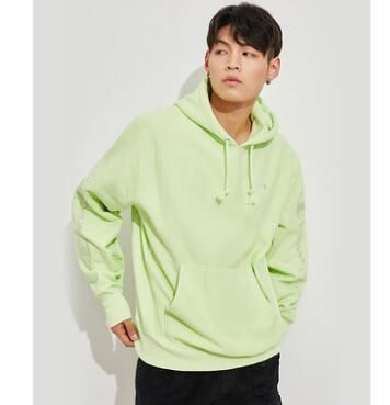 Urban Outfitters パーカー・フーディ Urban Outfitters×Championユニセックスパーカーライトグリーン(7)
