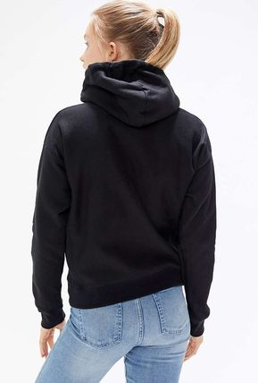 Urban Outfitters パーカー・フーディ Urban Outfitters×Championロゴパーカーブラックカラー(9)