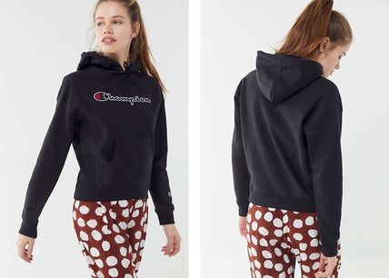 Urban Outfitters パーカー・フーディ Urban Outfitters×Championロゴパーカーブラックカラー(11)