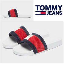 UK発★Tommy Jeans 20AW CORDUROY TOMMYスライドサンダル