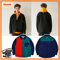 【KODAK】CODUROY FLEECE JACKET 2色