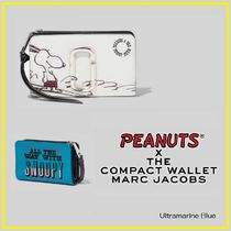 MARC JACOBS【スヌーピーコラボ】☆THE SNAPSHOT COMPACT WALLET