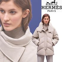 HERMES Quilted puffer jacket
