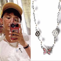 ジヨン着用 STUGAZI GD BUTTERFLY ANGEL NECKLACE