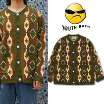 ★YOUTHBATH★20FW PIXEL KNITE CARDIGAN