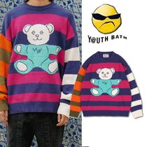 ★YOUTHBATH★20FW BEAR ST KNIT