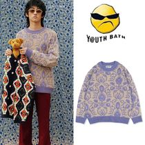 ★YOUTHBATH★20FW PAISLEY KNIT