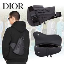 20AW【Dior】SADDLE バッグ Christian Dior Atelier