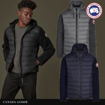 CANADA GOOSE*HYBRIDGE FLEECE HOODY*ダウンxフリース