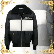 関税込み◆ DESERT LOGO DOWN JKT BLACK WHITE