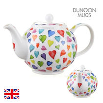 【Dunoon】英国 ティーポット Warm Hearts Large Teapot