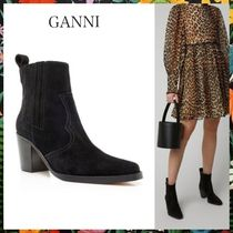GANNI☆スエードアンクルブーツSuede Ankle Boots