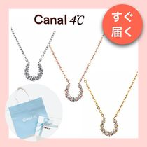 【canal 4℃】馬蹄モチーフのネックレス