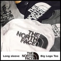 国内発送/正規品★THE NORTH FACE★MEN'S L/S BIG LOGO T-SHIRT