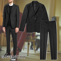 GIVENCHY☆SINGLE BREASTED WOOL MOHAIR SUIT スーツ クラシック