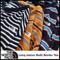 国内発送/正規品★THE NORTH FACE★MEN'S L/S MULTI BORDER TEE