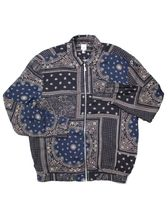 River Island Paisley Zip Shirt Jacket ペイズリー ジャケット