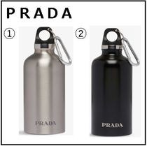 PRADA(プラダ) タンブラー 【PRADA】Logo-print stainless steel water bottle350ml ボトル