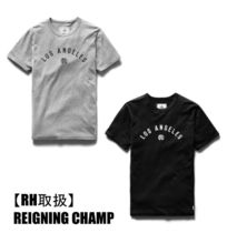 Ron Herman取扱*REIGNING CHAMP LOS ANGELES ARCH LOGO Tシャツ